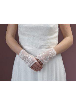 kanten handschoen