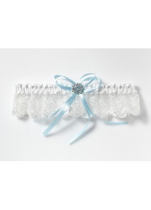 Kousenband voor de bruid