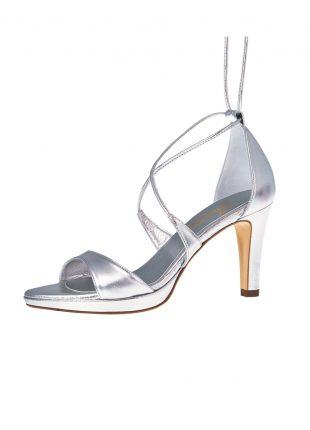 Bruidsschoen Maike Silver